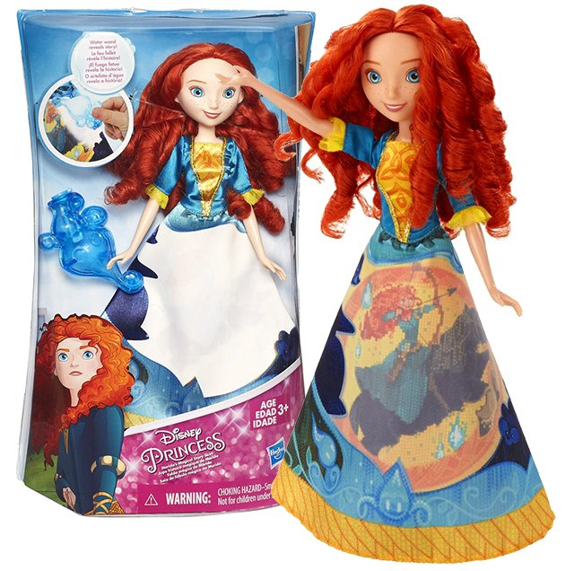 Disney Princess Merida Story Skirt doll