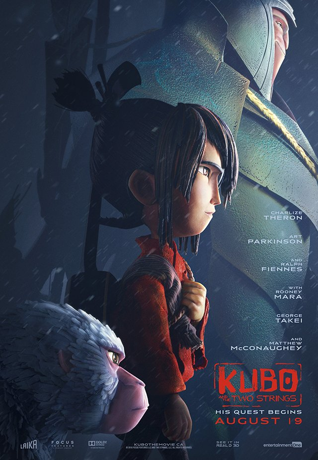 Kubo and the Two Strings Official Poster