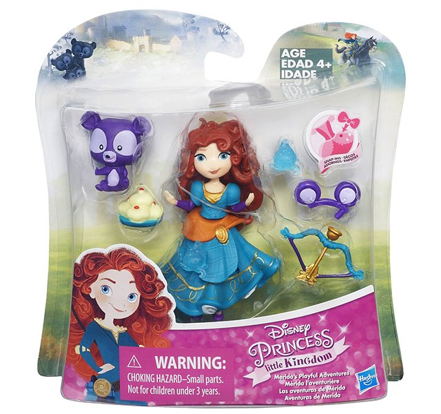 Disney Princess Little Kingdom Merida's Playful Adventures set