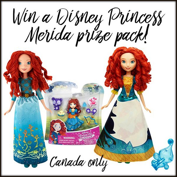 Win a Disney Princess Merida prize package