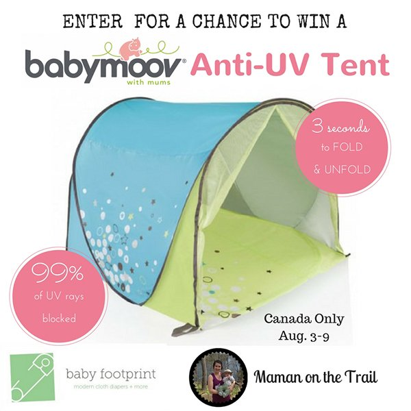 Enter to win a Babymoov Anti-UV Tent (CAN, 8/9)