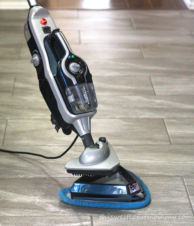 SteamScrub steamer 2-in-1 review: the Scrub Brush detaches from the foot for extra deep cleaning.