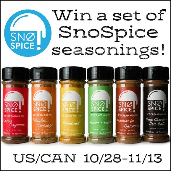 Win a set of SnoSpice seasonings (US/CAN, 11/13)