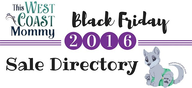 Black Friday 2016 Sales Directory - Here's where you'll find all the best deals on cloth diapers, baby carriers, mom & baby gear, and more!