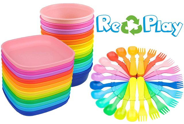 Re-Play recycled dishware