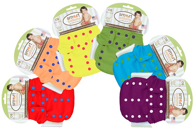 Smart Bottoms 3.1 AIO diapers