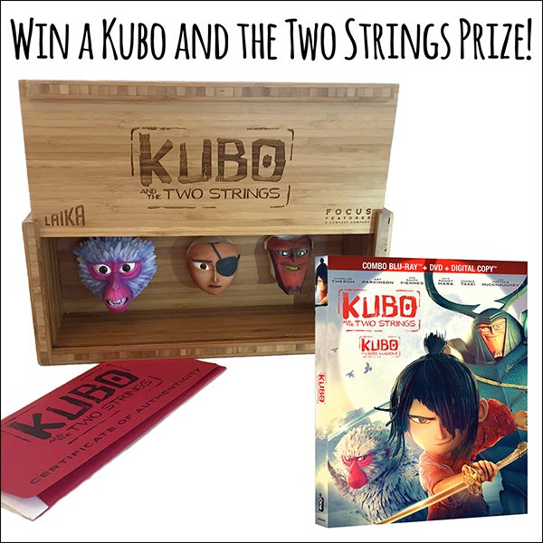 Win a Kubo and the Two Strings Prize Pack