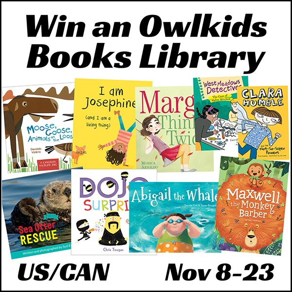 Win an Owlkids Books Library (US/CAN, 11/23)
