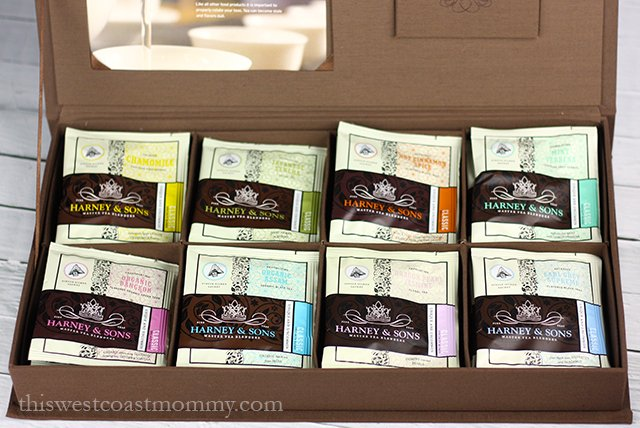 linen chest with 8 teas