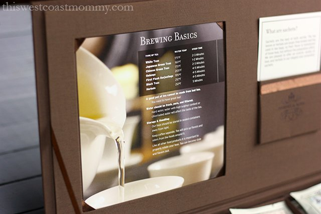 tea chest - brewing basics