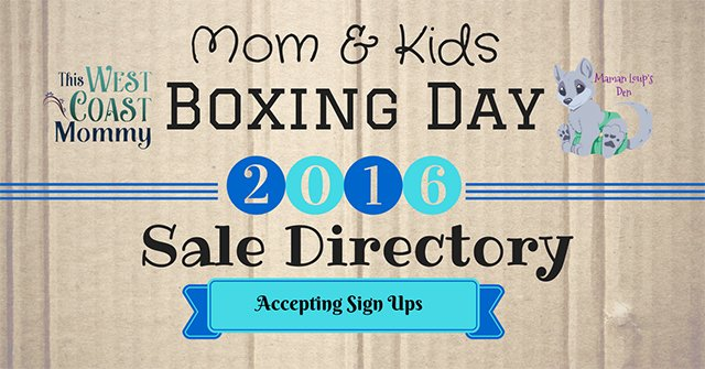 Boxing Day Sale Directory Now Accepting Sign Ups