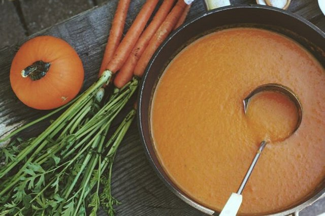 Carrot Ginger Soup - The Best in This Life