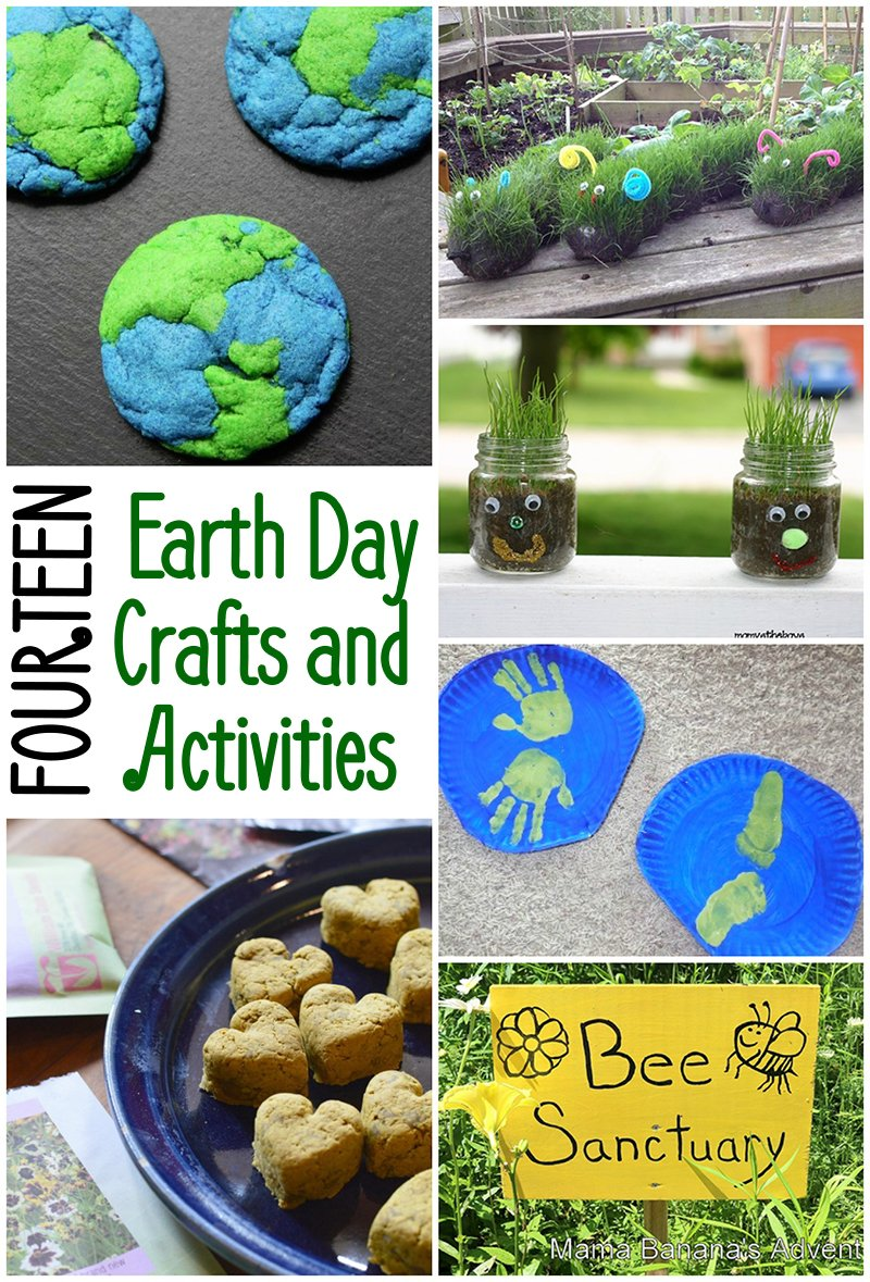 Celebrate Earth Day with these Earth-themed crafts and activities!