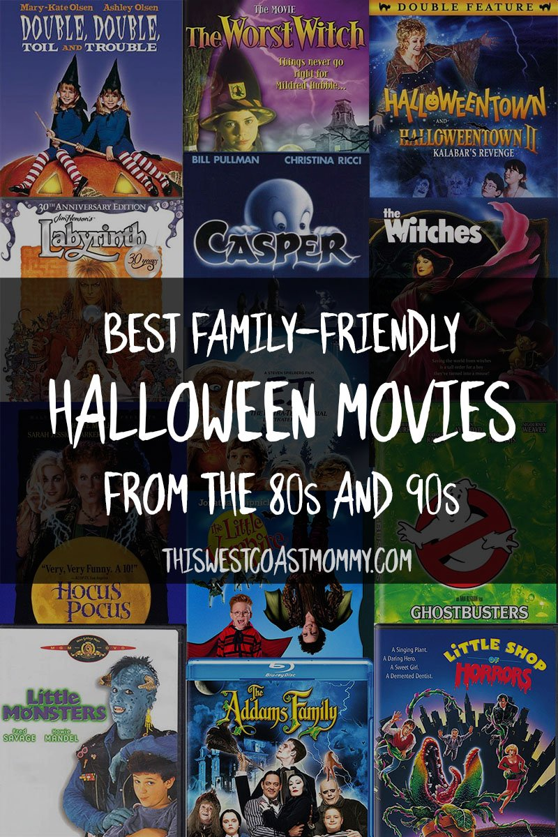 Best Family-Friendly Halloween Movies from the 80s and 90s