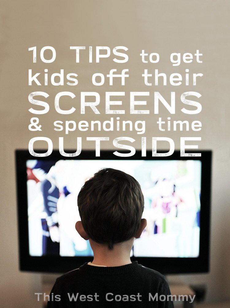 10 tips to get kids off their screens