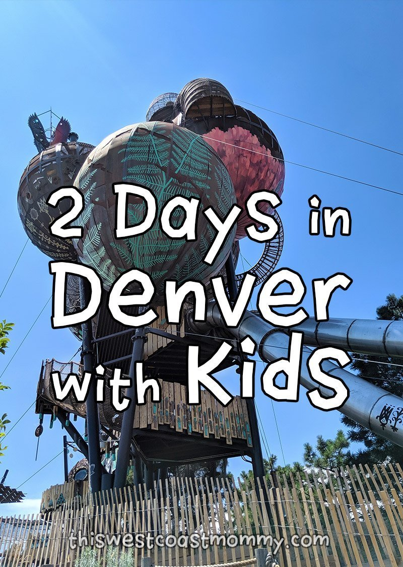 2 Days in Denver with Kids: Visiting the Denver Museum of Nature and Science, the Children's Museum of Denver, and the Butterfly Pavilion.